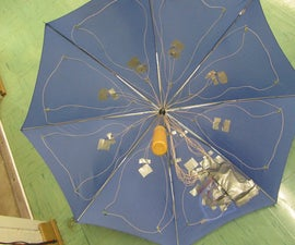 Pressure Activated Light-Up Umbrella