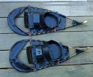 Duct Tape Snowshoes From Scratch