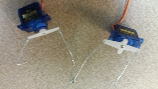 The Wrist: Servos, Arms and Wires