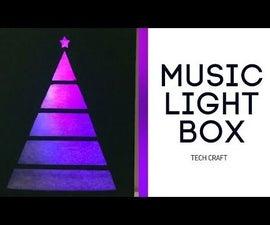 Music Interactive Light Box