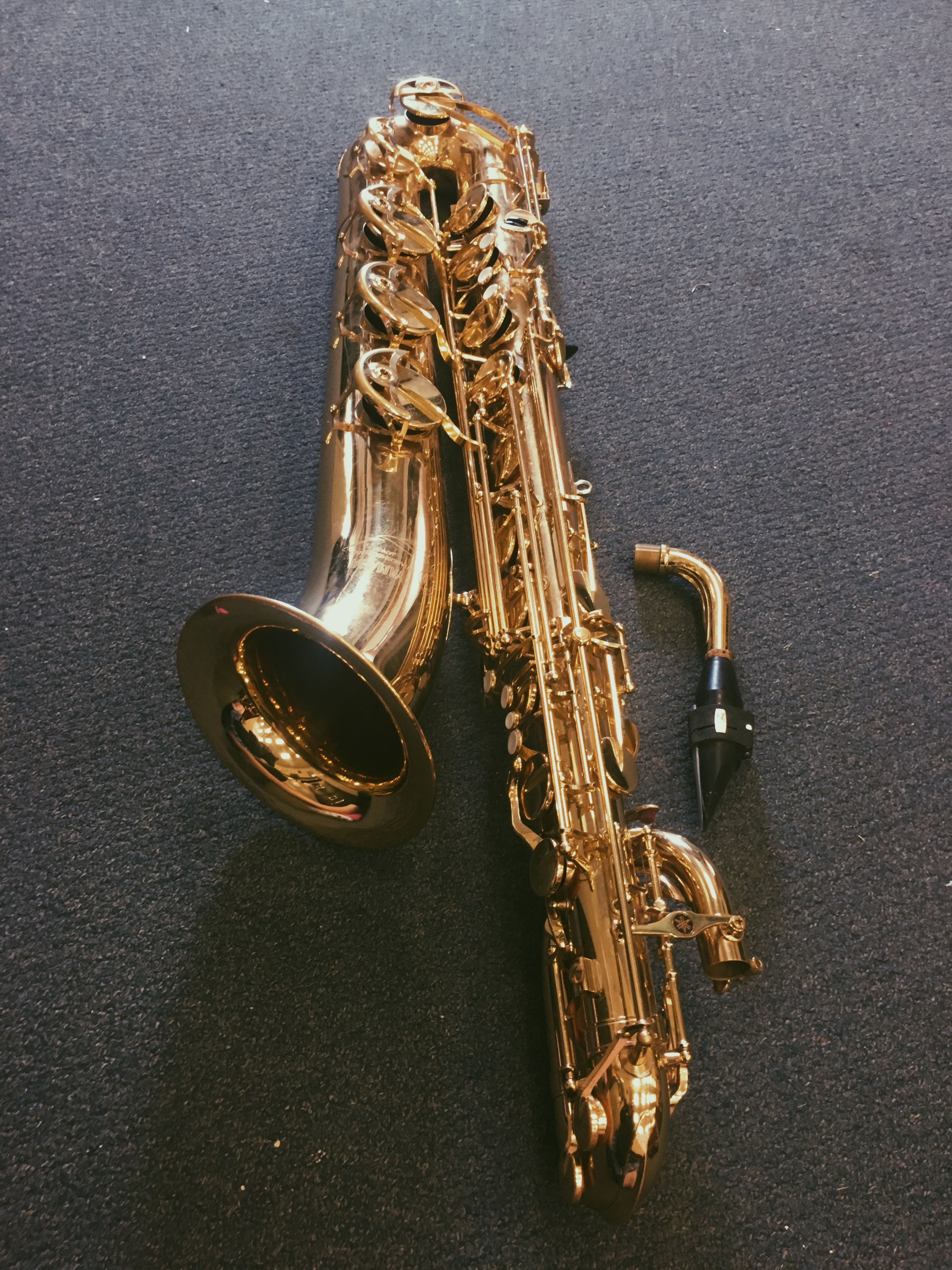 Picture of Connecting the Body of the Instrument to the Neck