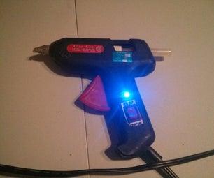Adding a Power Switch to a Hot Glue Gun