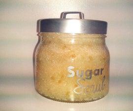 Simple but divine sugar scrub