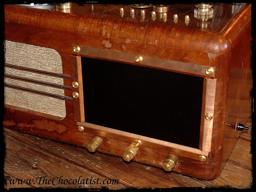 Picture of The THEATRUM MAGICUS - a Steampunk Media Player for Music, Photos and Movies