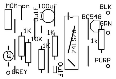 Solder in the Resistors