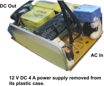 Adding the AC-DC Power Supply and Finishing the Box