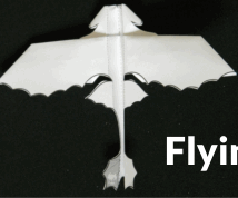 How to Make a Flying Paper Dragon