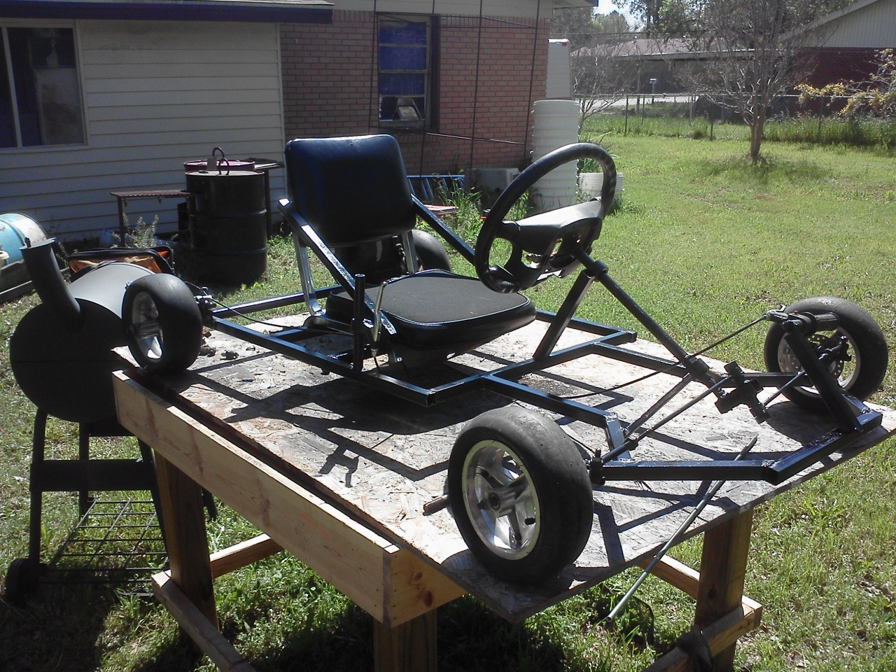 Homemade Go Kart: 10 Steps (with Pictures)
