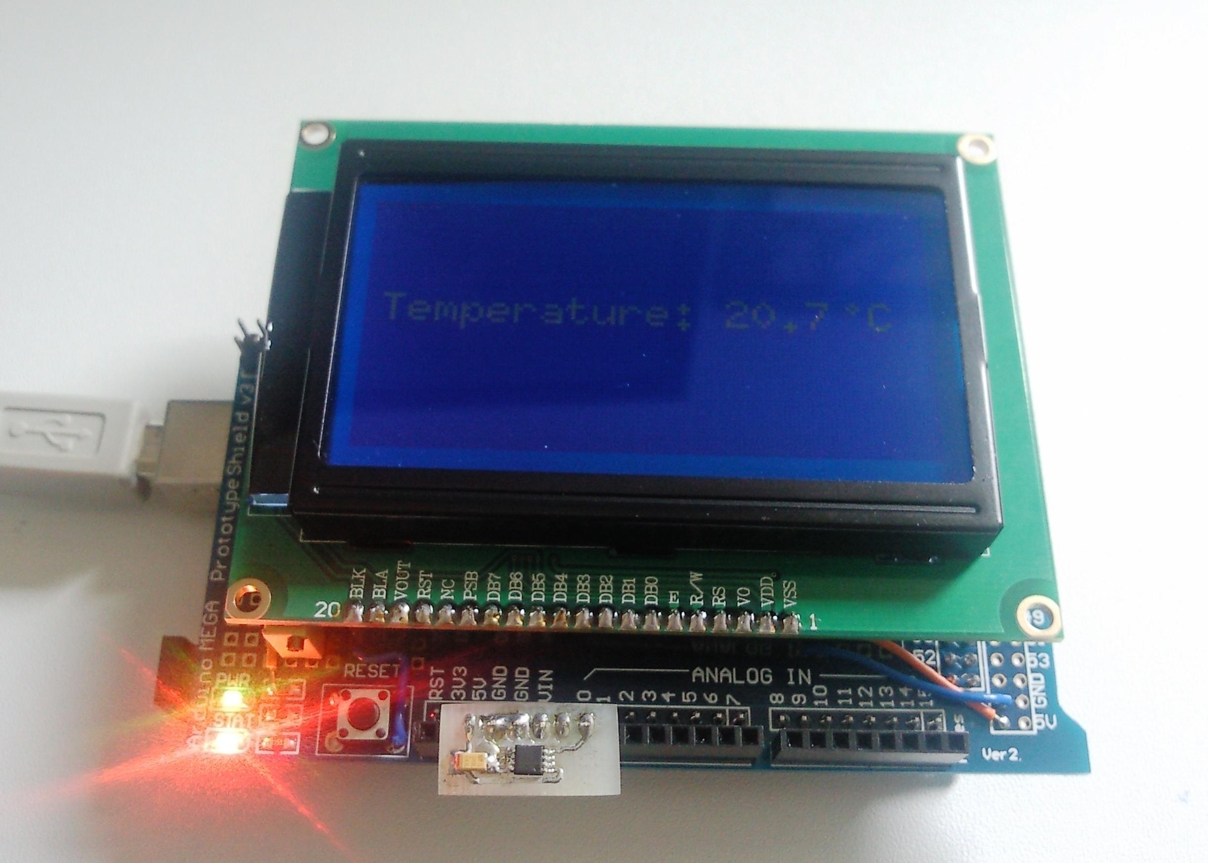 Picture of DIY Arduino Temperature Sensor