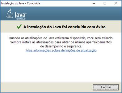 Install JAVA -  Instale Java