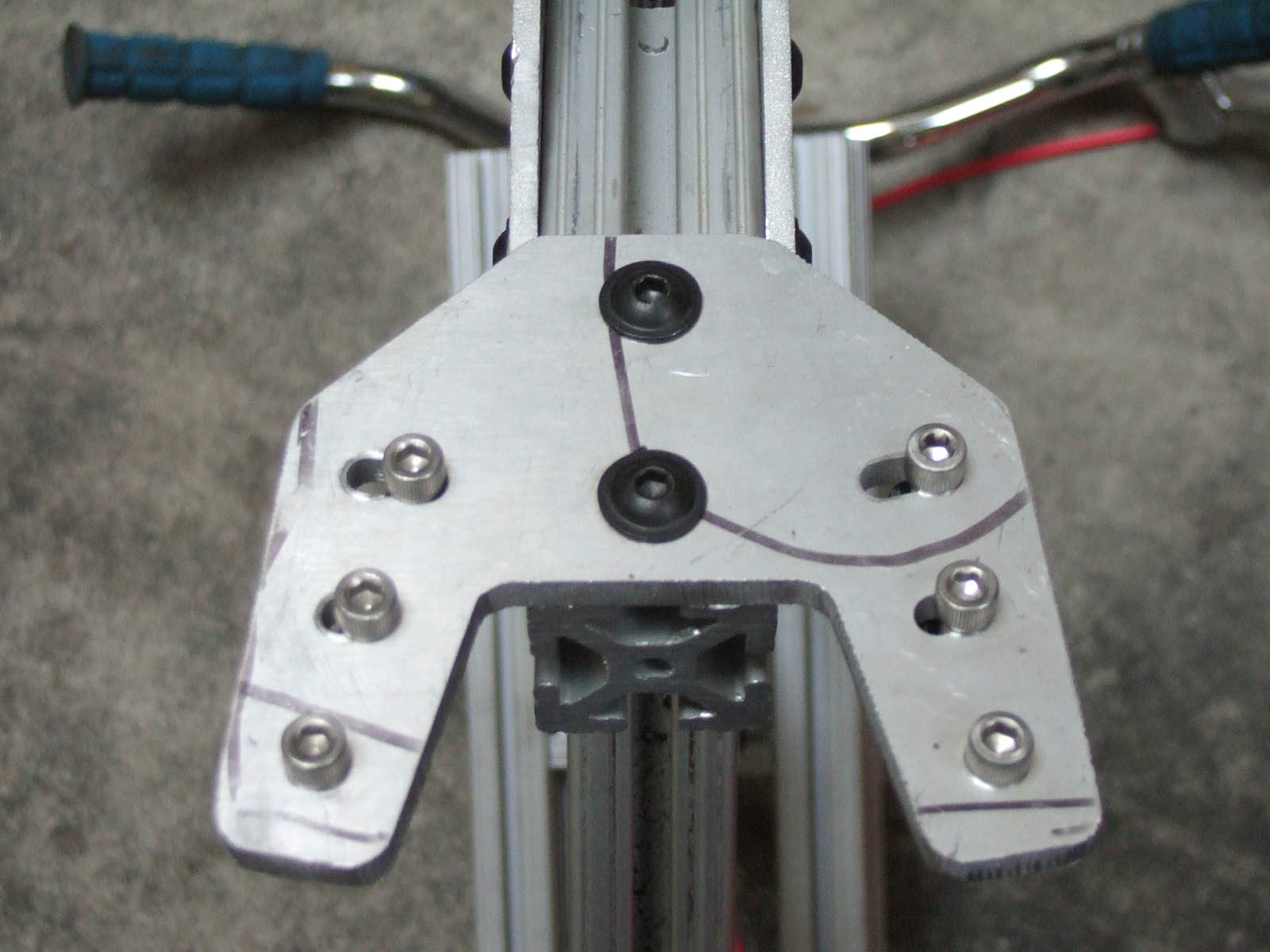 Picture of Rear Rails and Dropouts