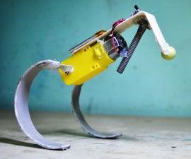 The Runner : a Simple Running Robot