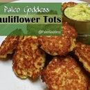 Paleo Cauliflower Tots