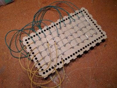 LED Matrix Connection Wires