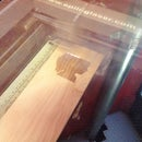 laser etching a 3D photograph