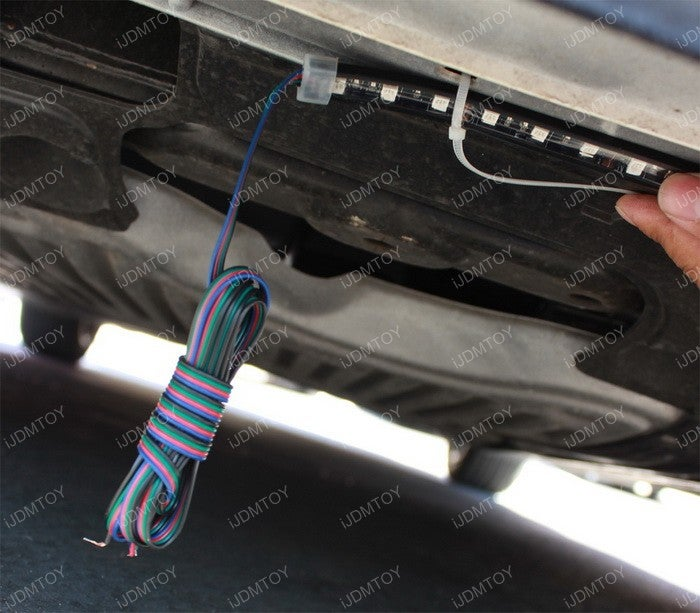How to Install Car LED Strip Lights : 5 Steps - InstructablesInstructables