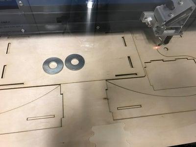 Laser Cutting the Wheel