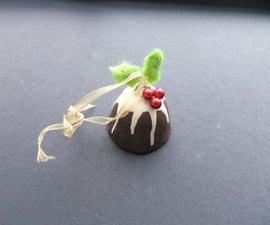 Christmas pudding Christmas ornament
