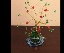 Wire Tree DIY Tutorial