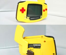Make a Pikachu Themed Gameboy Advance (With a Tail)