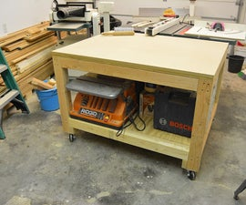 Assembly/Out feed table