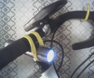 LiveStrong Bicycle Flashlight