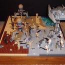 How to Make a Small Lego Battle Scene