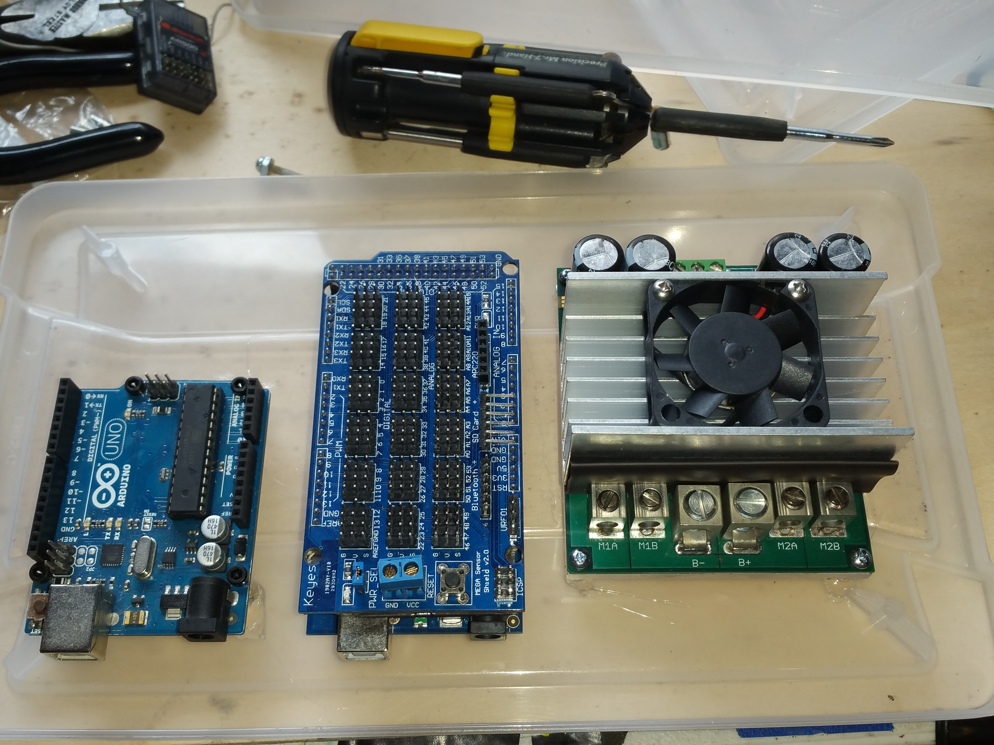 Picture of Bulletproofing a Sabertooth Motor Controller