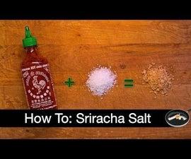 Homemade Sriracha Salt