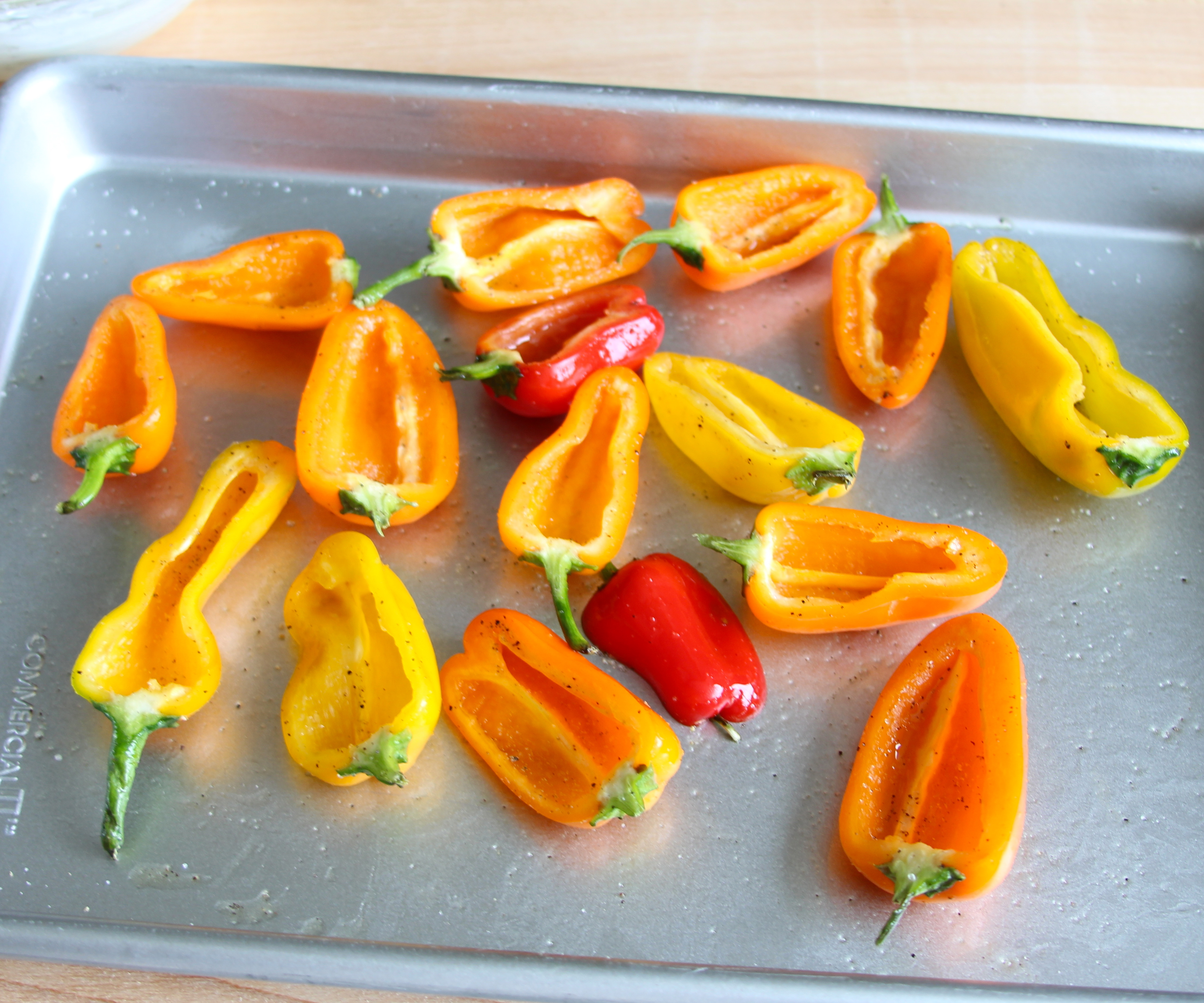 Picture of Prep the Peppers & Preheat the Oven