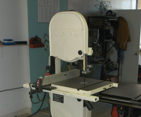 "Changing Blades on the 14"" Bandsaw"