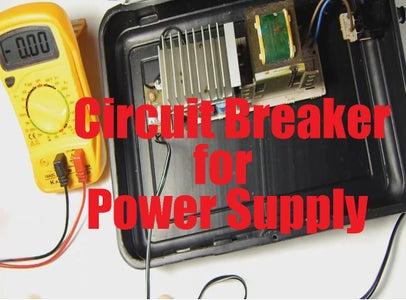 Circuit Breaker for Power Supply