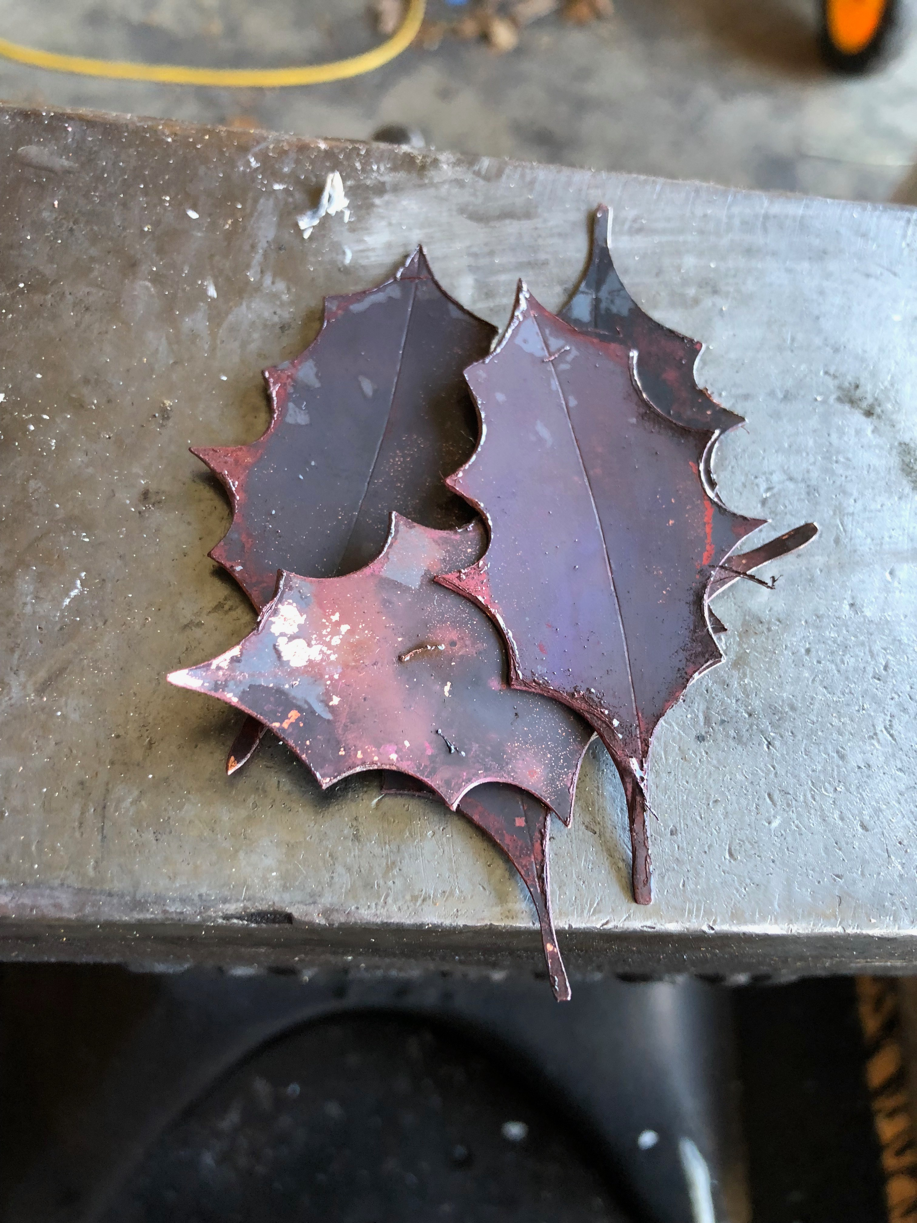 Picture of Optional But Recommended: Anneal the Leaves