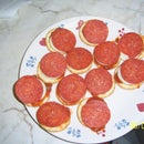 Mini Pizza Hors D'Oeuvres