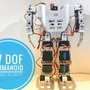 How-to: 17 DOF Humanoid Robot