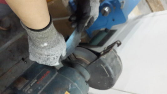 Hardening the Blade