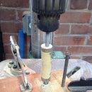 Drill Press As Wood Lathe