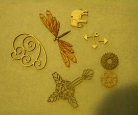 Wooden Jewelry Parts and Trinkets