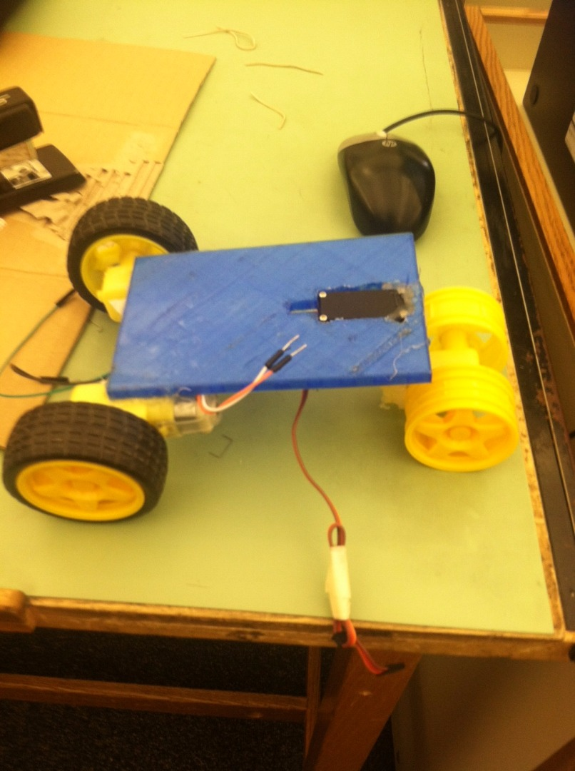 Picture of Step 2: Preparing the Base and Wheels