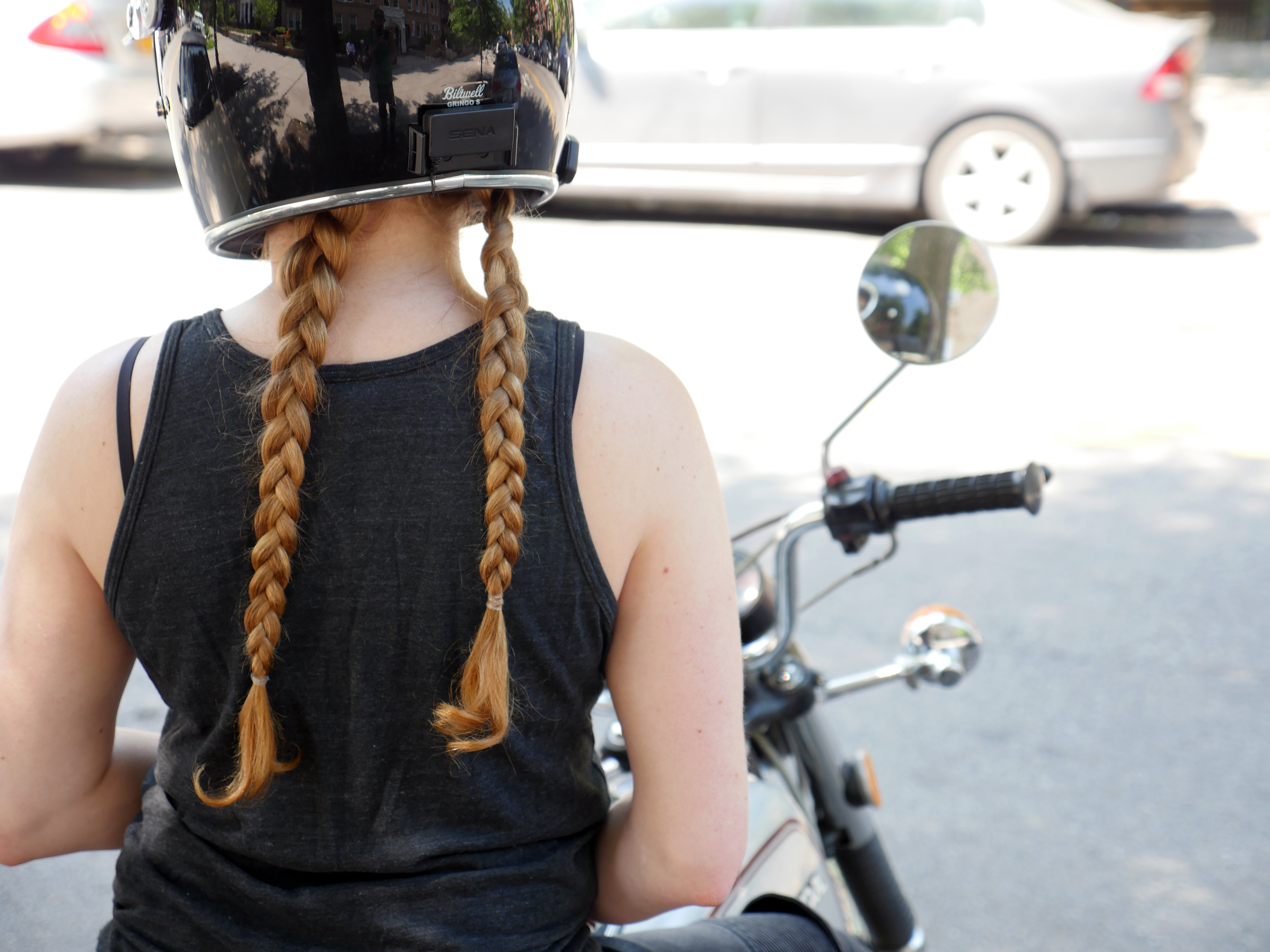 Picture of Helmet Compatible Hairstyles