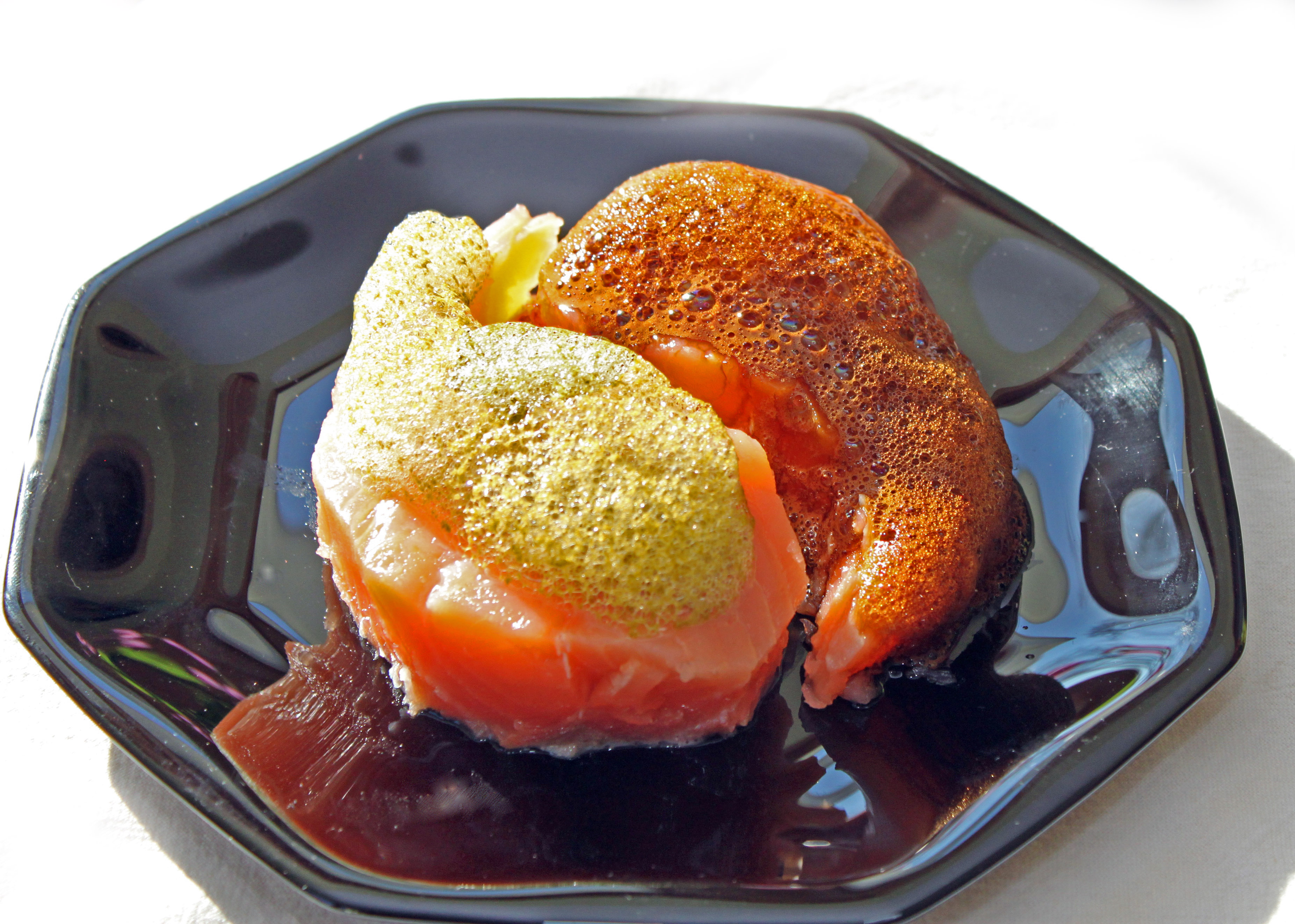 Picture of Salmon Mi-Cuit With Foamed Flavor Dressing