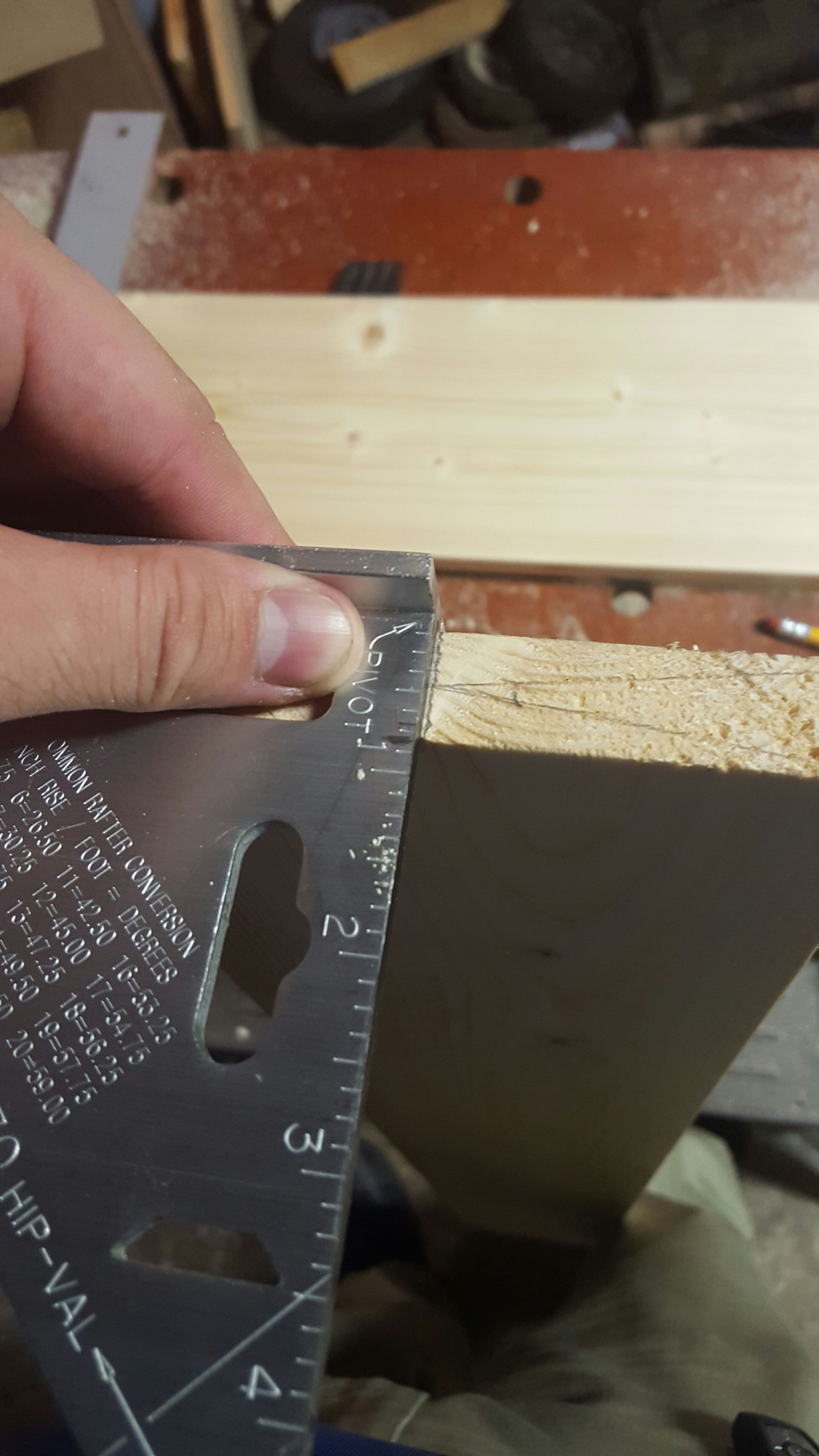 Picture of So, Where Is Half When You're Cutting at 45°?