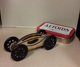 Easy Laser Cut Wooden Toy Car