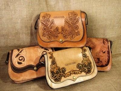 "Leather Bag ""Carmen"""