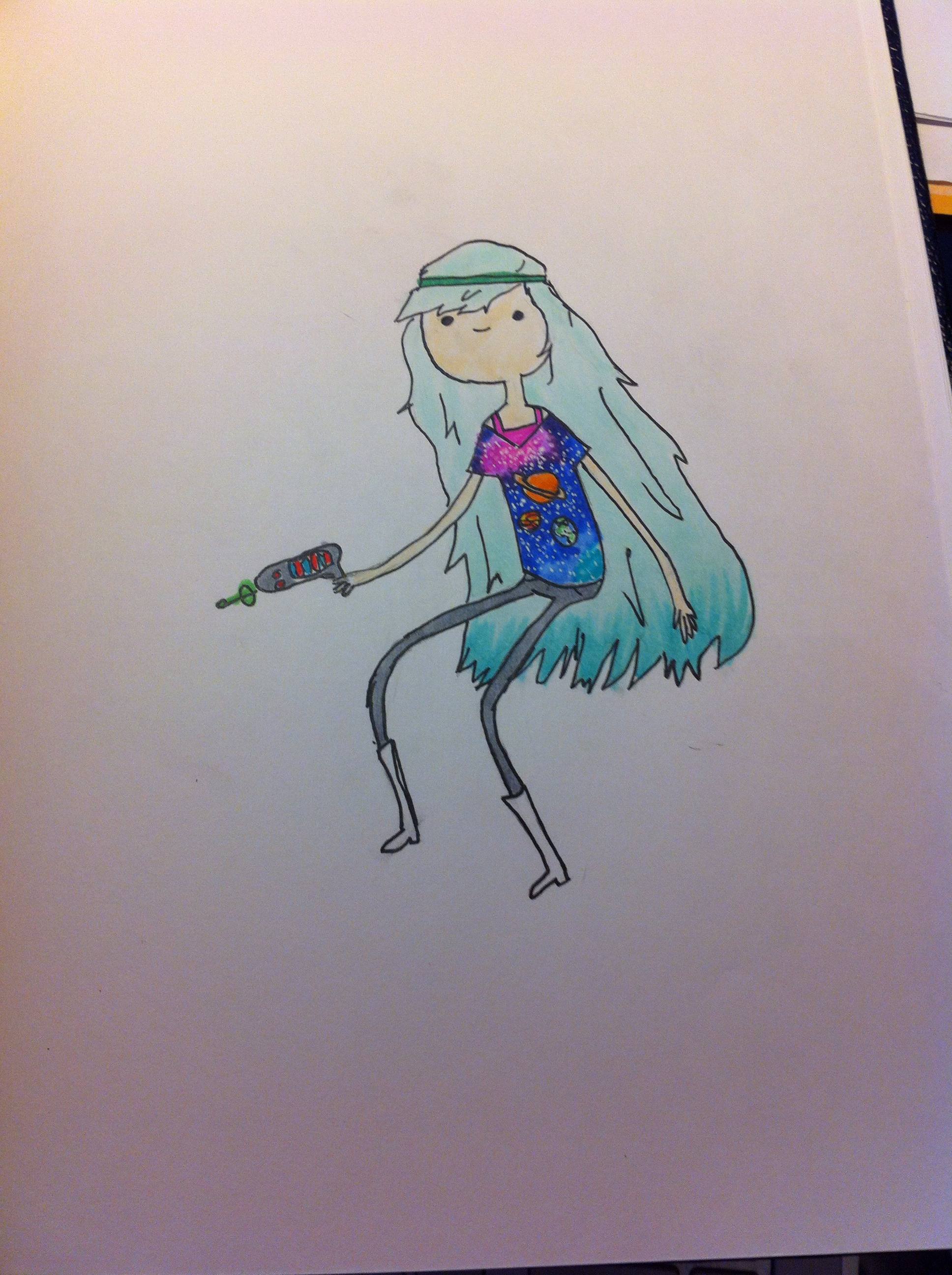 Picture of Adventure Time Style Cartoons