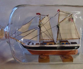 Building A Ship In A Bottle.
