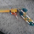Simple K-nex Pistol With Trigger Shoots 20+ft