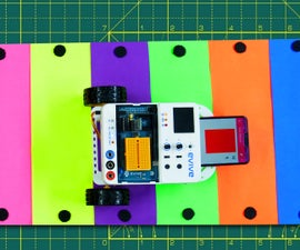 Color Detecting Robot Using Smartphone and Evive (Arduino Based Embedded Platform)