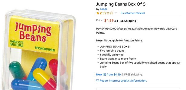 DIY Jumping Beans