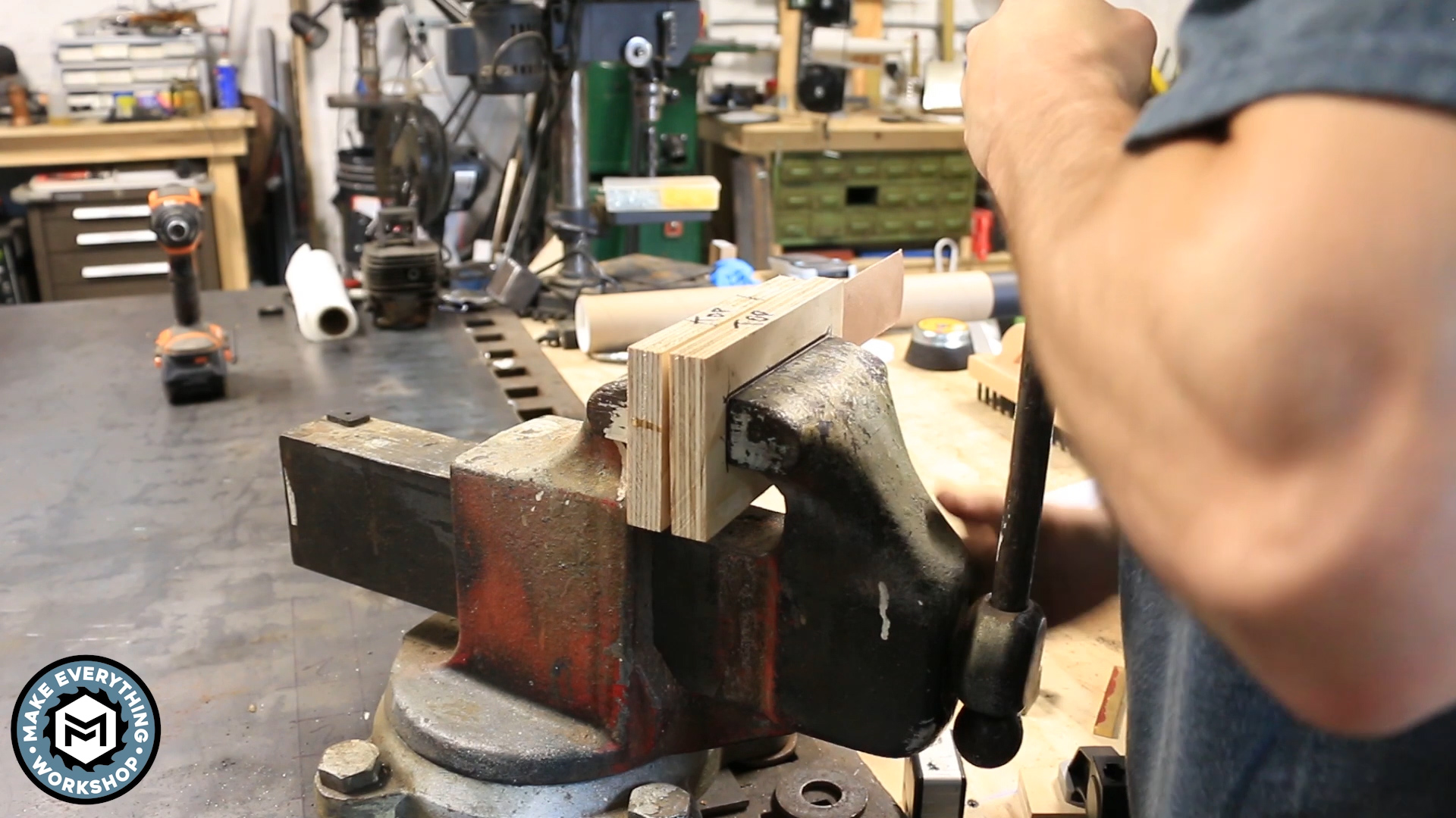 Picture of Clamp Your Leather and PRESS